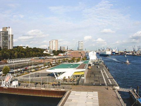 Hamburgo - Altonaer-Balkon