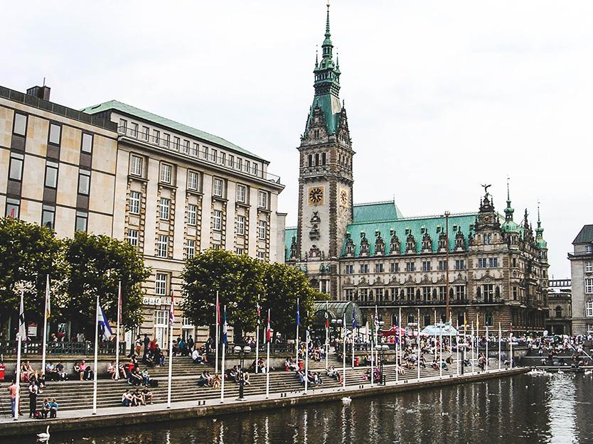 Hamburgo - Rathaus