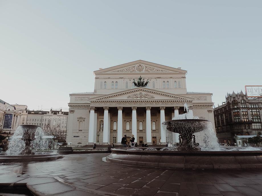Moscovo - Teatro Bolshoi